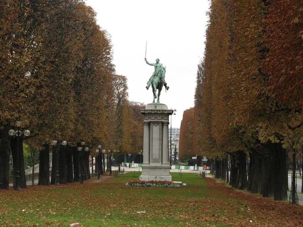 Памятник Лафайету (Monument à Lafayette)