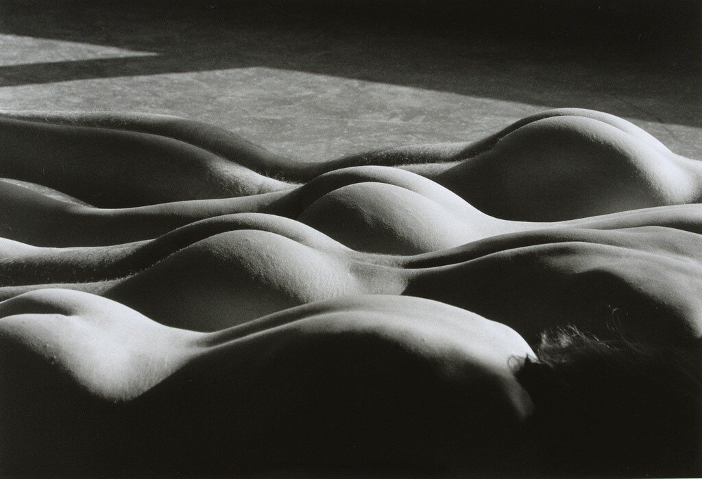 Lucien Clergue.Four Nudes in the City, New York