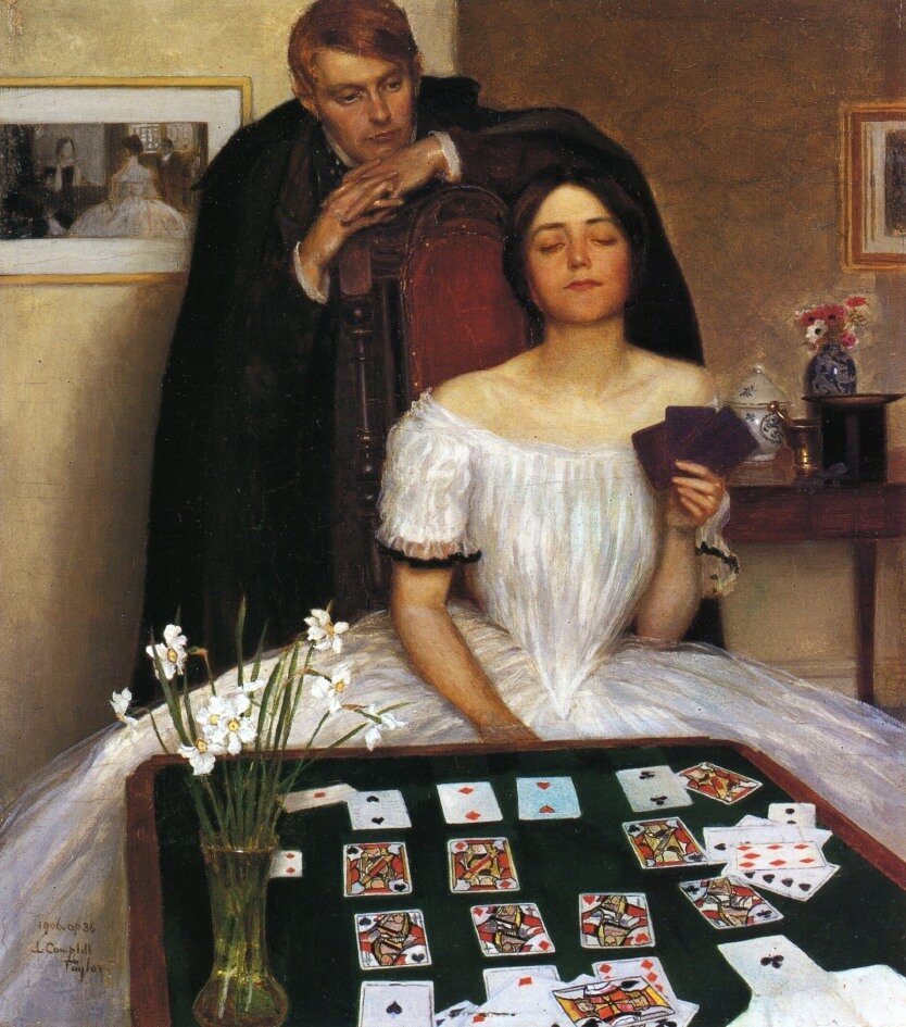 Leonard Campbell Taylor.Терпение,1906