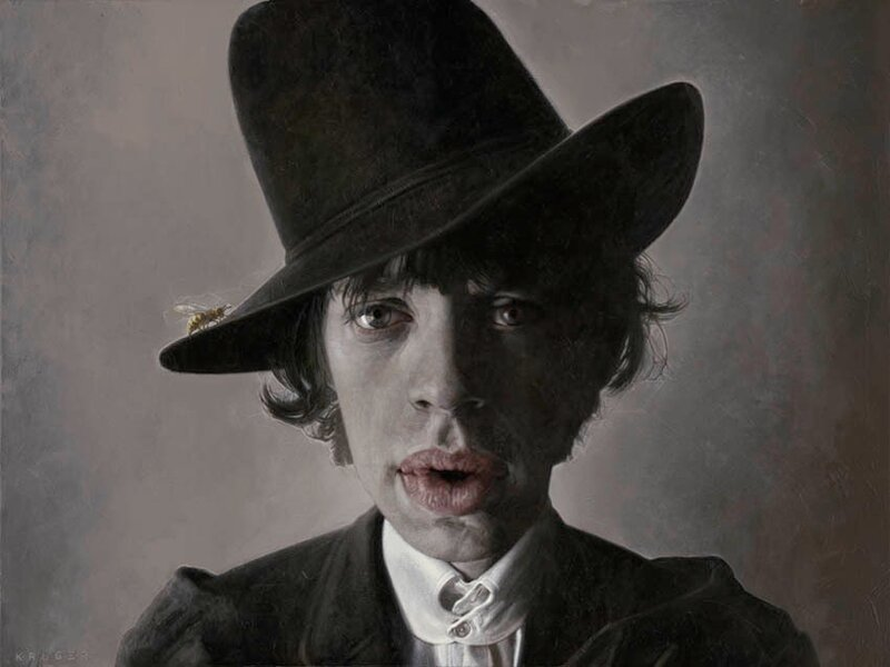 художник  Sebastian Krüger,Germany. Mick Jagger