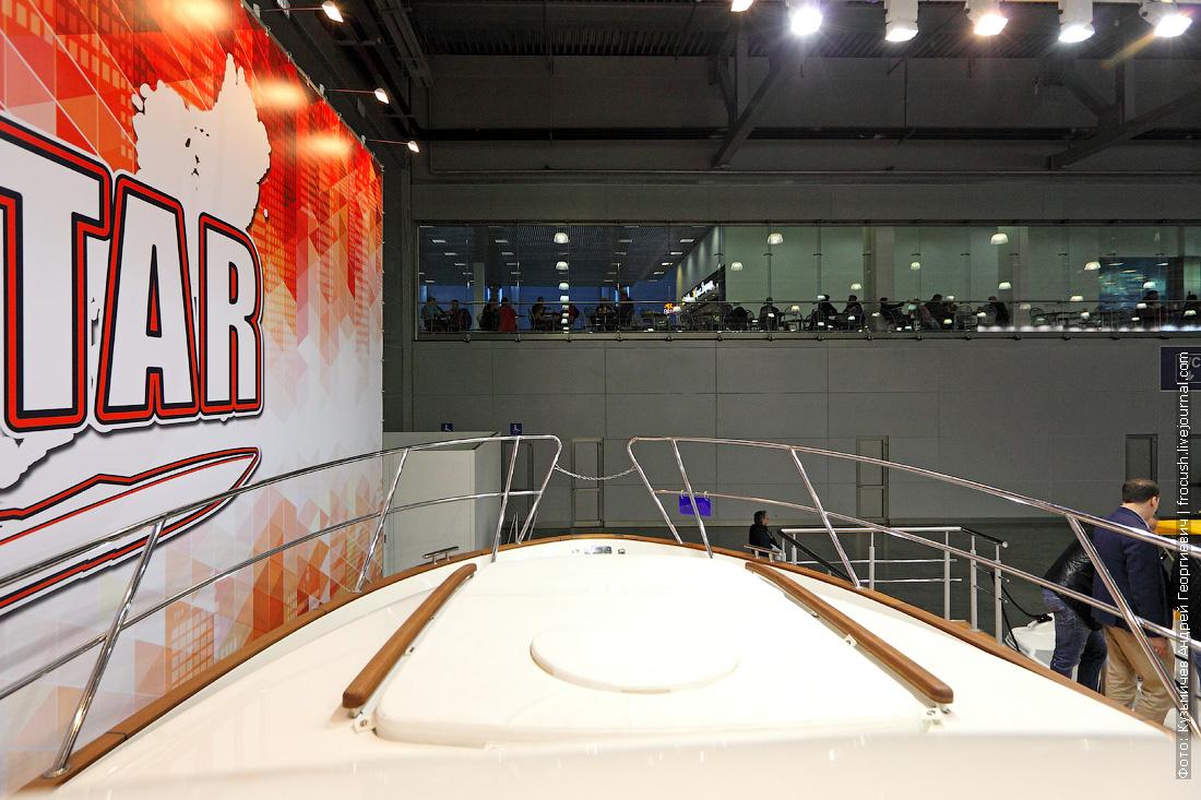 московское боут шоу крокус экспо 2015 Marex 370 Aft Cabin Cruiser фото