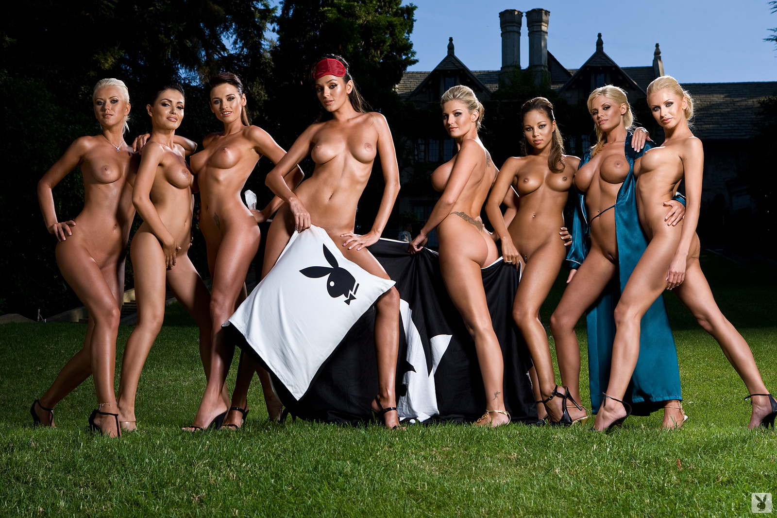 nude parties mansion Playboy
