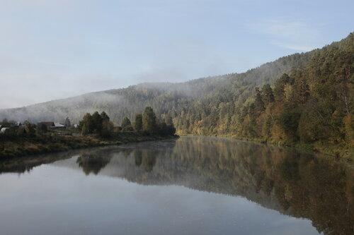 Зеркало реки Ай