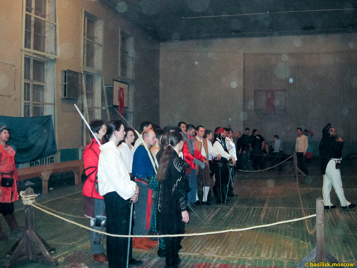 Зиланткон-2007. Турнирный зал.