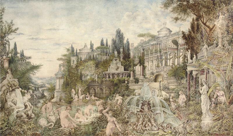 Очарованный сад. 1882