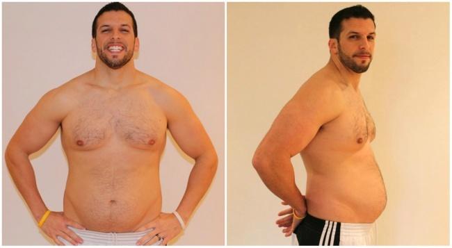 Тренер по фитнесу набрал вес и заново привел себя в форму