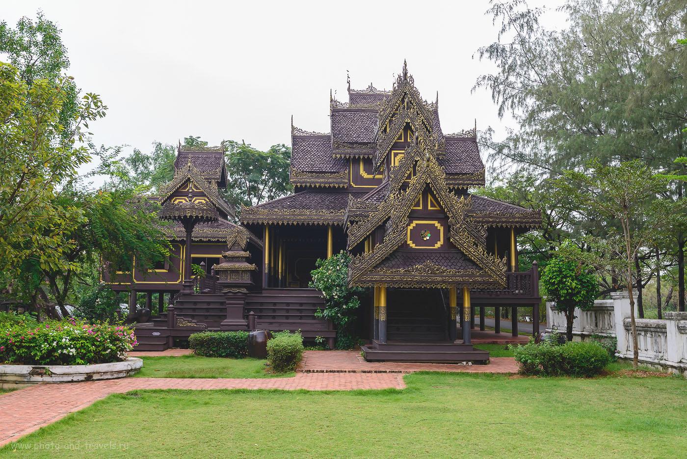 12. Традиционный деревянный дом в Таиланде (The Dvaravati House, деревянный дом в стиле Дваравати (древнее королевство на территории Южного Таиланда, существовавшее в 6-11 веке). 1000, 36, 10.0, 1/160)