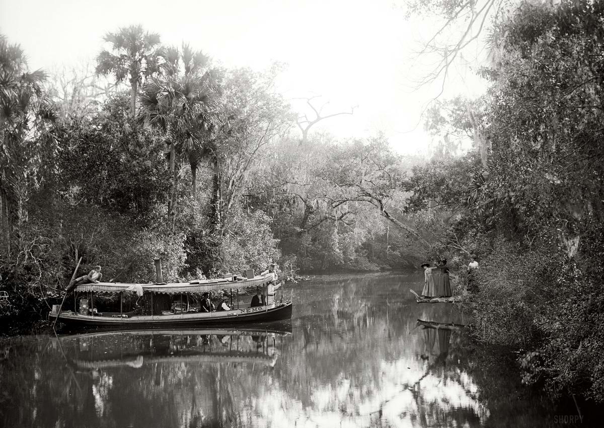 Корабли, речные суда и военные моряки на снимках американских фотографов конца 19 века (11)