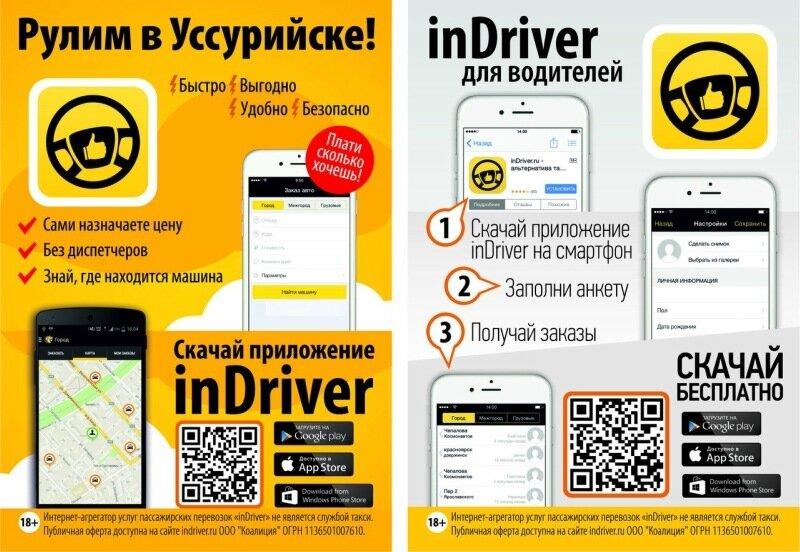 Indriver ru скачать приложение