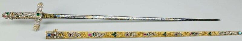 Драгоценный жертвенный меч