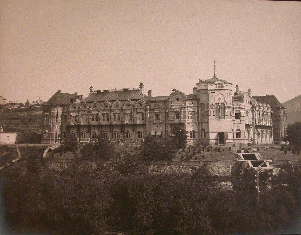 03. Общий вид здания больницы