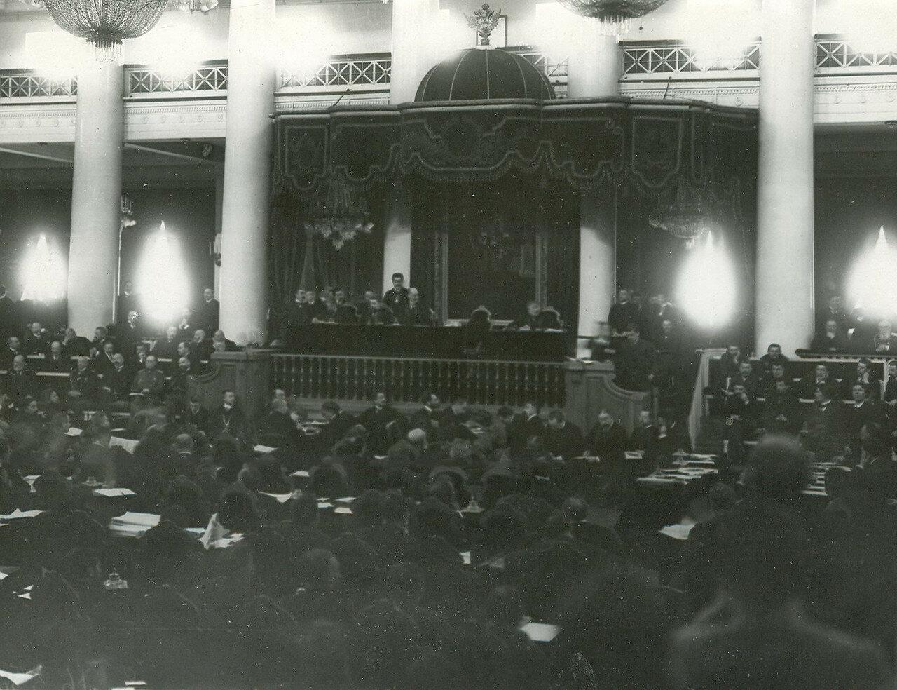 05. Совместное заседание Государственного Совета и Второй Государственной Думы в зале дворянского собрания
