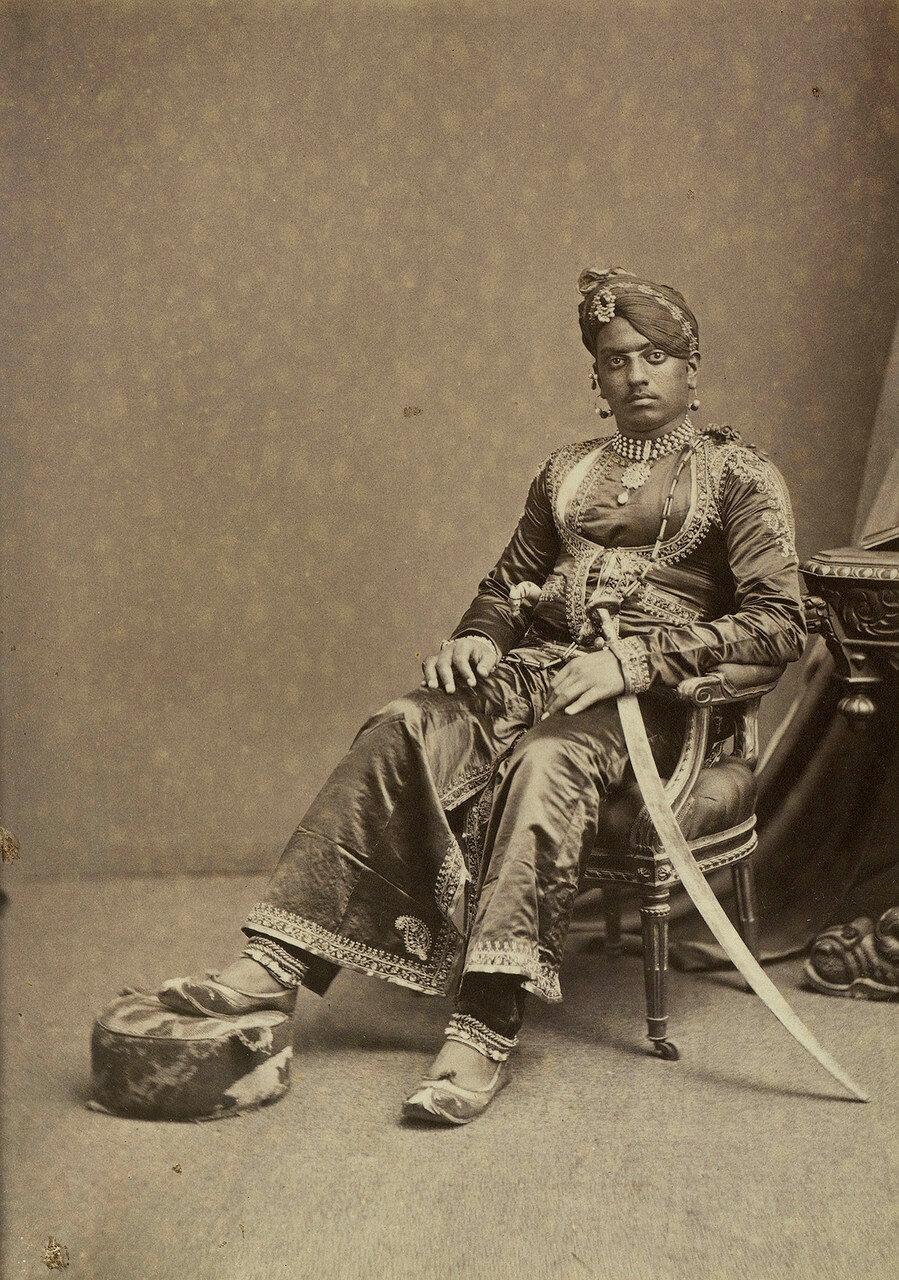 132. Махарана Удайпура Саджан Сингх (1859-84)