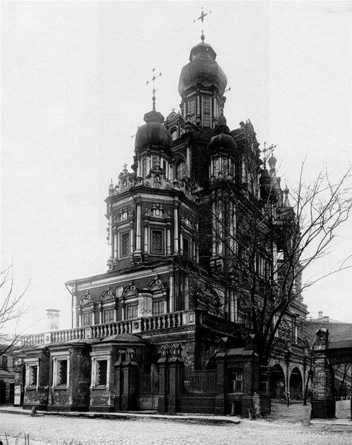 1920-е. Успение на Покровке. Алтари