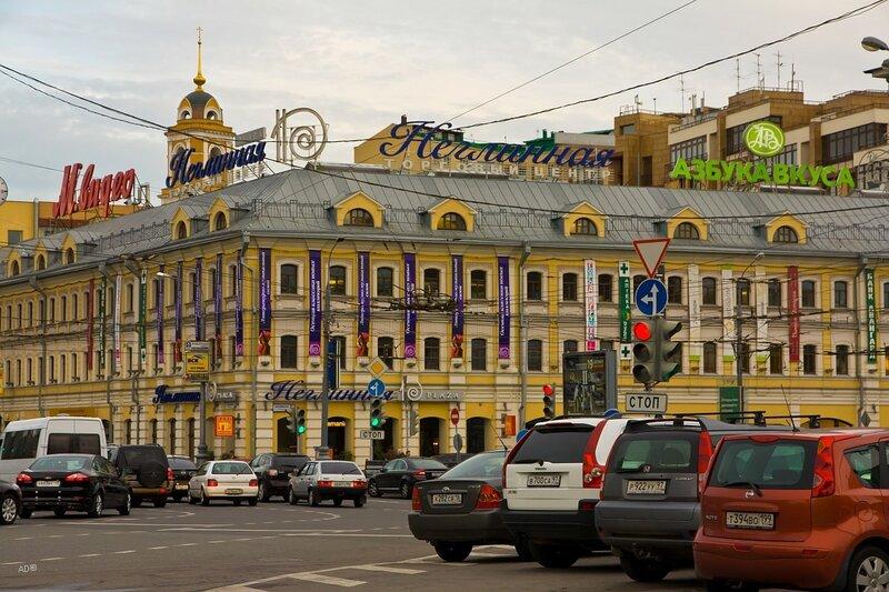 Торговый центр и жилой комплекс «Неглинная Plaza»