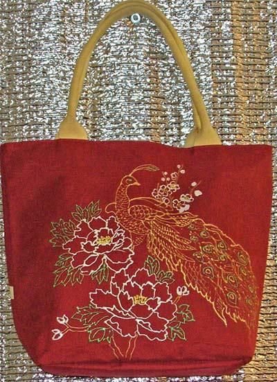 роспись на сумке
