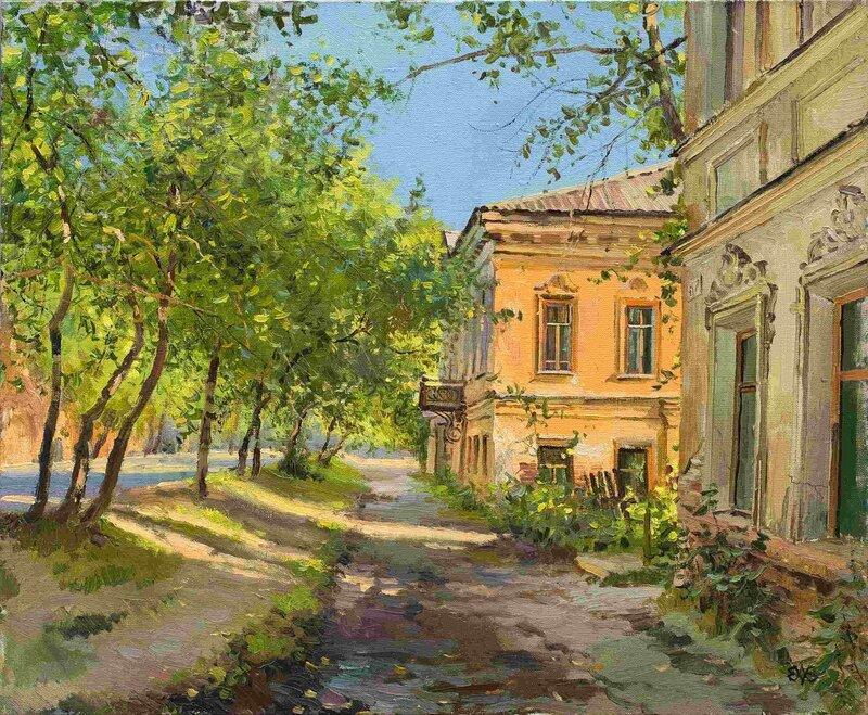 Алексей Ефремов Июльское утро, 2010, 50х60
