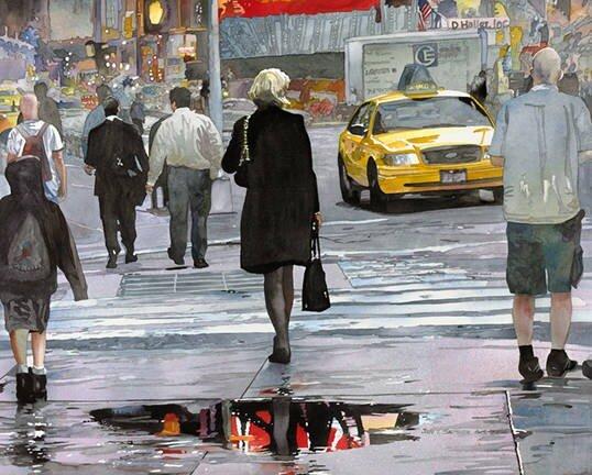 Американский художник Джон Т. Сэлминен