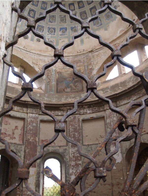 Дегтево. Интерьер Корсунской церкви