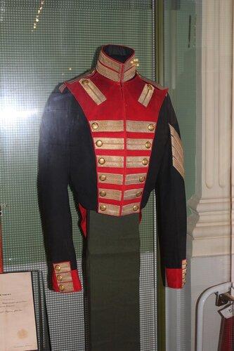 Мундир рядового роты Дворцовых гренадёр