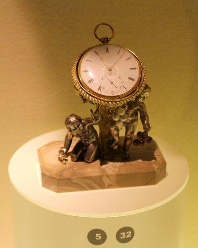 Карманные часы на подставке