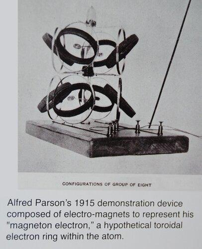Модель Альфреда Парсонса. 1915 год.