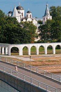 Ярославово дворище (Великий Новгород, мост, Ярославово дворище)