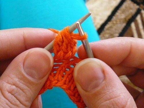 0 45451 5611ef28 L Уроки вязания спицами. Как связать шишечки спицами.
