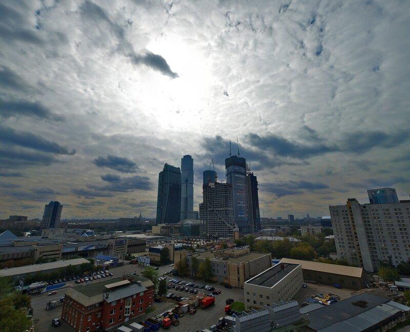 Сити в облаках