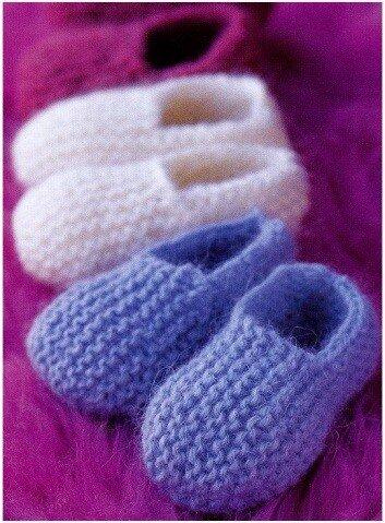 Описание: домашние тапочки вязание спицами схема.