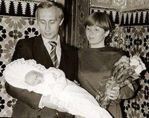 Путины и новорожденная