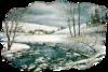 новогодний пейзаж74