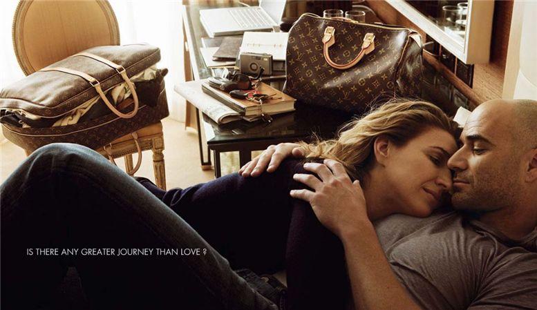 Andre Agassi and Steffi Graf / Андре Агасси и Штеффи Граф, фотограф Annie Leibovitz