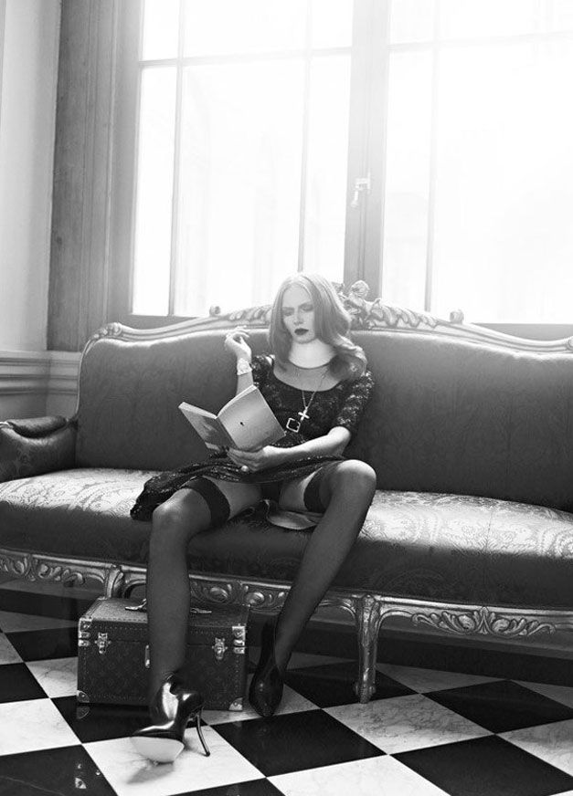 модель Wiola Kowal / Виола Коваль, фотограф Koray Birand