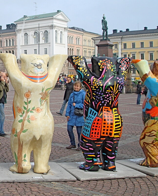 Международная художественная выставка  «United Buddy Bears – Содружество мишек Бадди» — в Хельсинки