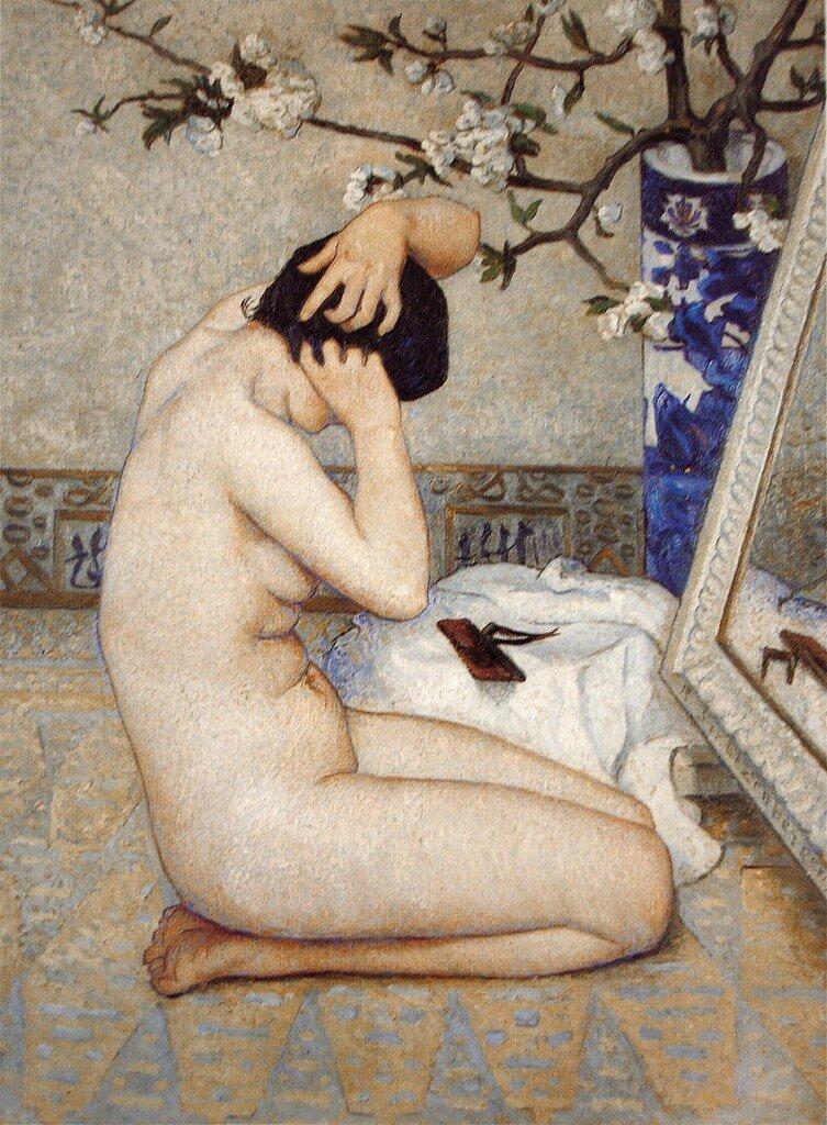 La Coiffure (1911).Paul René Schützenberger