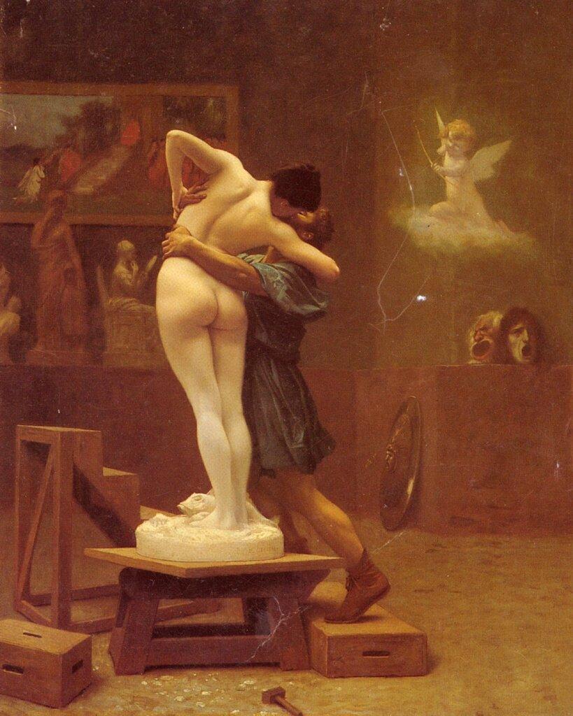 Jean-Léon Gérôme Pygmalion et Galatée 1890