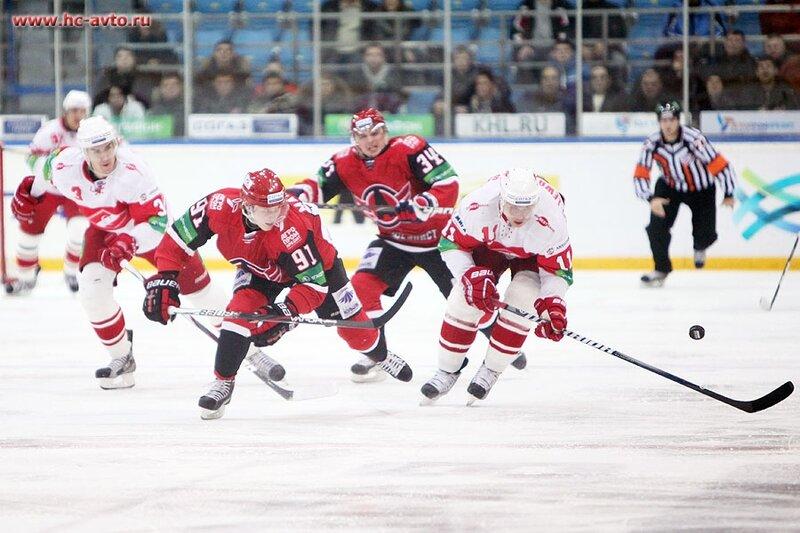 «Автомобилист» vs «Спартак» 1:0 чемпионат КХЛ 2012-2013 (Фото)