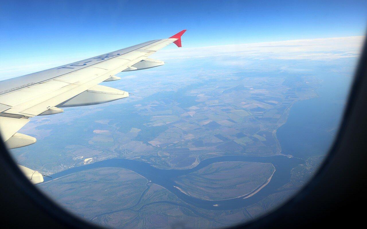 Волга. Остров Пустынный, Саратовская ГЭС