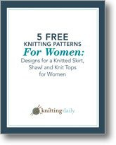 Книга 5 Free Knitting Patterns for Women: Designs for a Knitted Skirt, Shawl and Knit Tops for Women