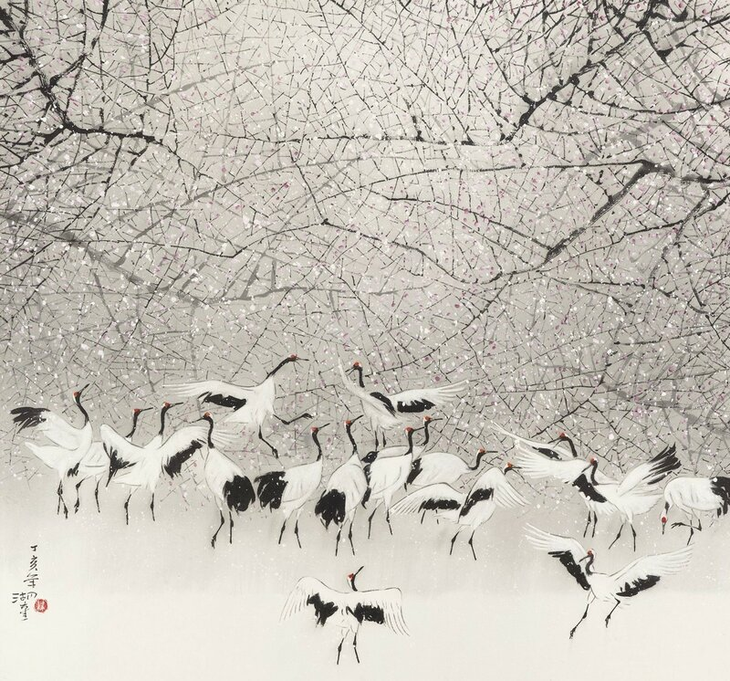 Танцующие Журавли / Lam Wu-fui