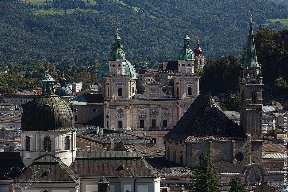 что посмотреть Кафедральный собор Зальцбурга