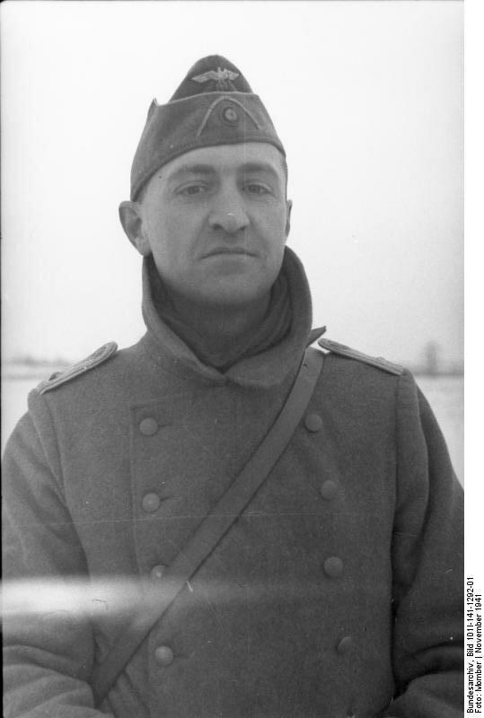 Russland-Mitte, Soldat der franzцsischen Legion (?)