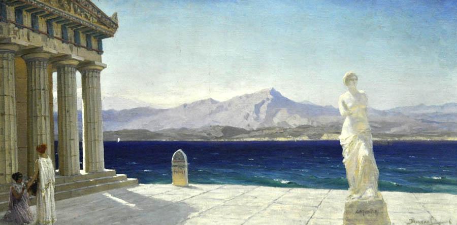 Поленов. Античный пейзаж 1906 900.jpg