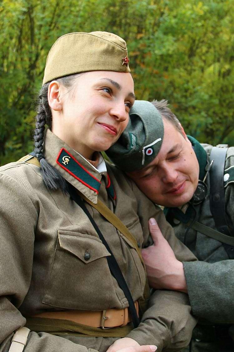 Забавные моменты из жизни военных реконструкторов (116)