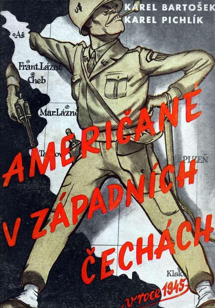 Американцы в западной Чехии в 1945 году