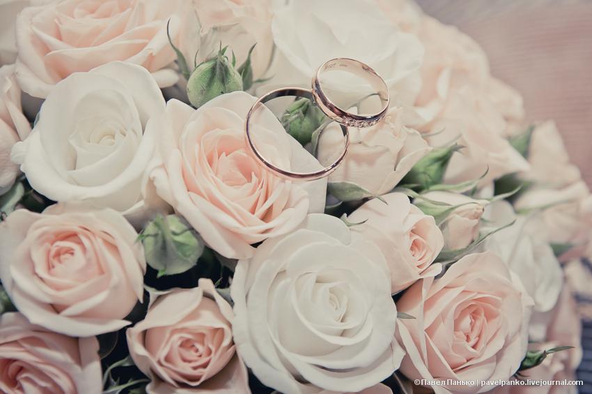 панько pavelpanko свадьба цветы кольца брак