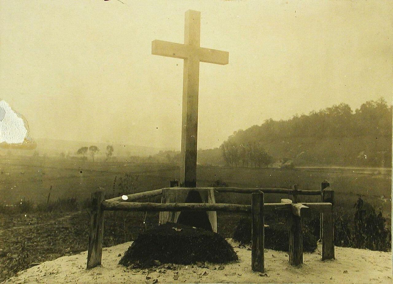 26. Общий вид братского кладбища. Галиция, р-н Олеюв