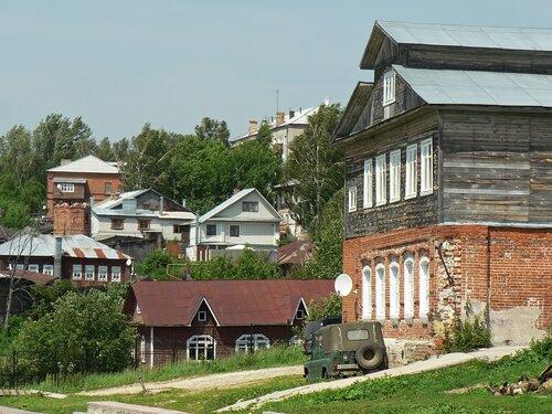 Касимовские домики