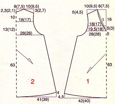 Картинка из галерей: Выкройки вязания крючком одежды для собак , Схемы...